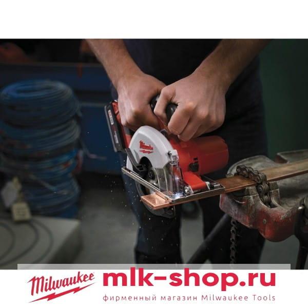 Аккумуляторная циркулярная пила по металлу Milwaukee HD18 MS-402В
