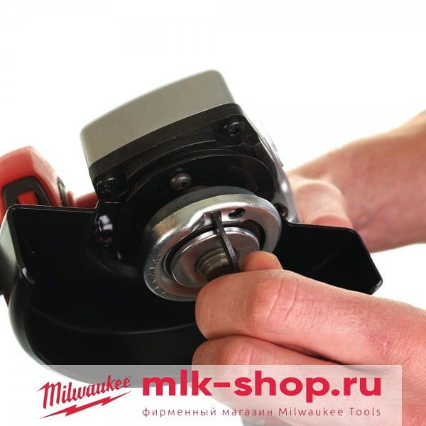 Аккумуляторная угловая шлифовальная машина (УШМ, Болгарка) Milwaukee HD28 AG125-502X