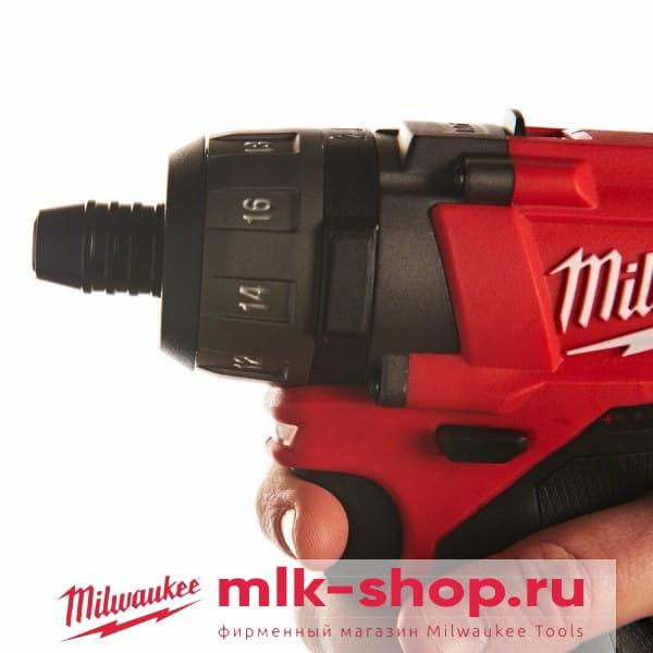 Аккумуляторный шуруповерт Milwaukee M12 FUEL CD-0