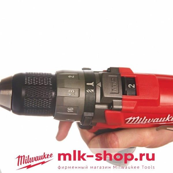 Аккумуляторная дрель-шуруповерт Milwaukee M12 FUEL CDD-202C