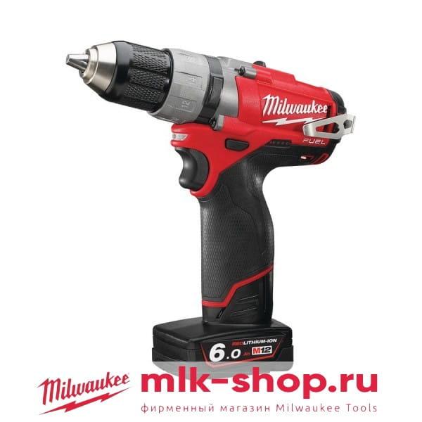 Аккумуляторная дрель-шуруповерт Milwaukee M12 FUEL CDD-402C-4933440395