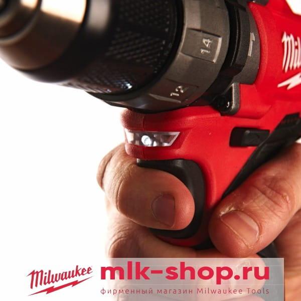 Аккумуляторная ударная дрель-шуруповерт Milwaukee M12 FUEL CPD-0