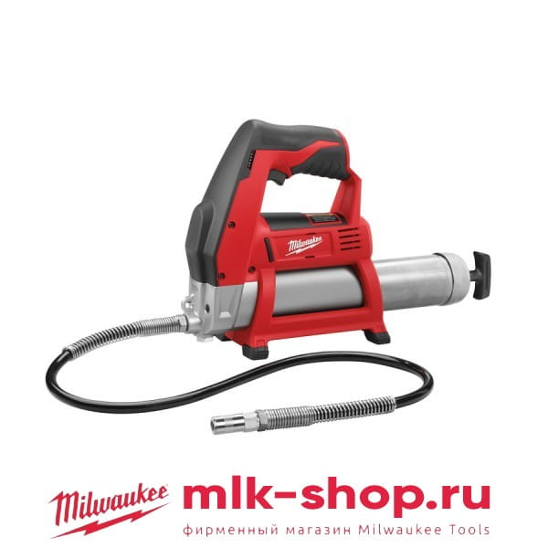 Аккумуляторный шприц для смазки Milwaukee M12 GG-0