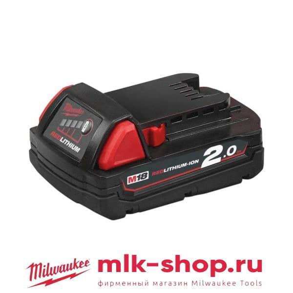 Аккумулятор Milwaukee M18 B2 2.0 Ач 4932430062