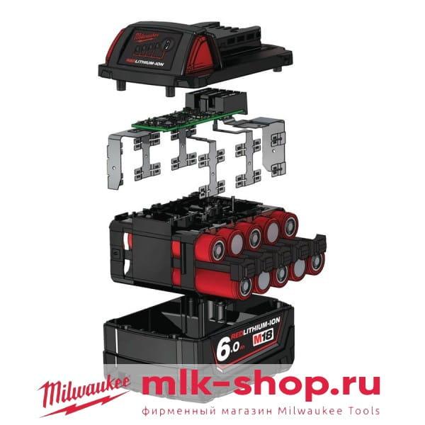 Аккумулятор Milwaukee M18 B6 6.0 Ач