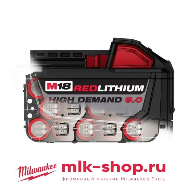 Аккумулятор Milwaukee M18 B9 9.0 Ач 4932451245