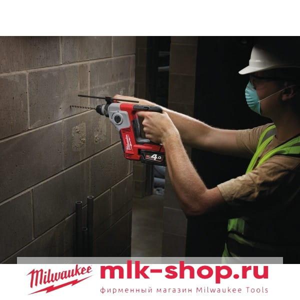 Аккумуляторный перфоратор Milwaukee M18 BH-0
