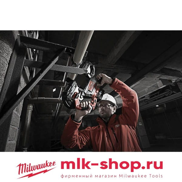 Аккумуляторная ленточная пила Milwaukee M18 FUEL CBS125-502C