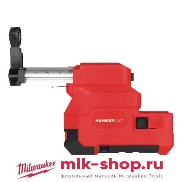 Аккумуляторный перфоратор с системой пылеудаления Milwaukee M18 FUEL CHXDE-502C
