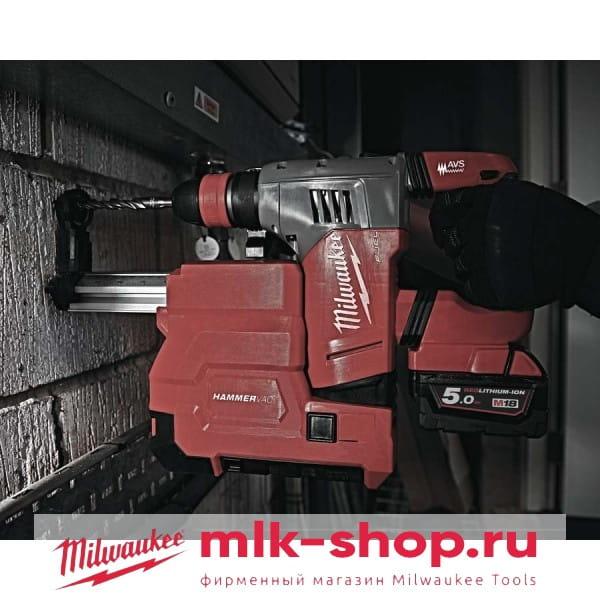Аккумуляторный перфоратор с системой пылеудаления Milwaukee M18 FUEL CHPXDE-502C