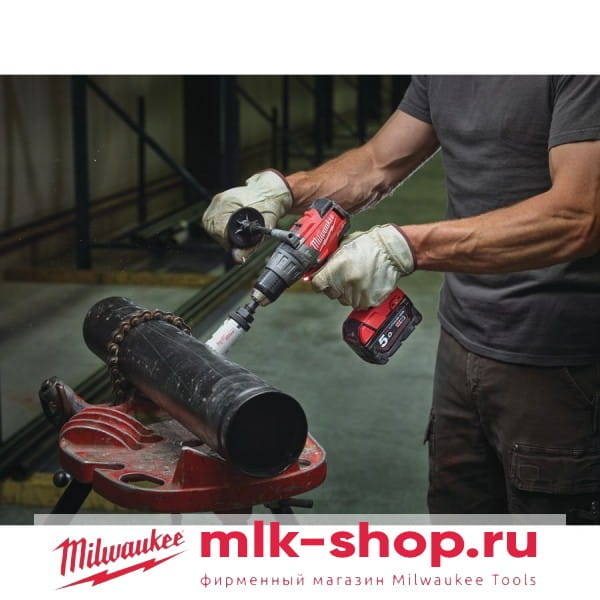 Аккумуляторная ударная дрель-шуруповерт Milwaukee M18 FUEL FPD-0X