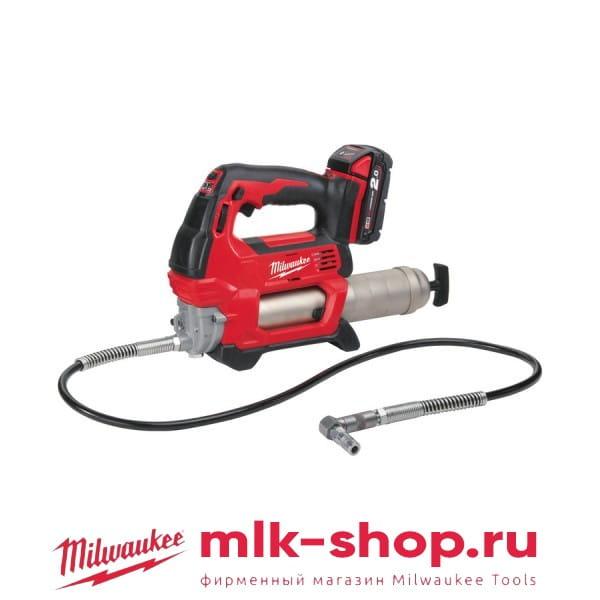 Аккумуляторный шприц для смазки Milwaukee M18 GG-201C