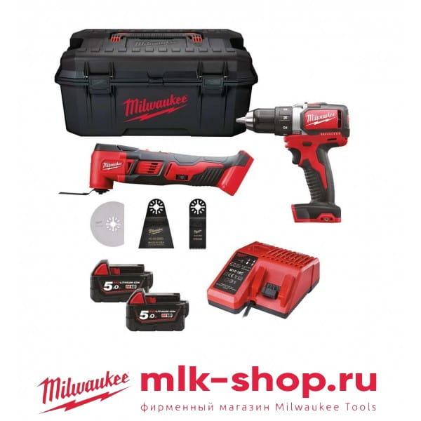 M18 SET2T-502W 4933451436 в фирменном магазине Milwaukee