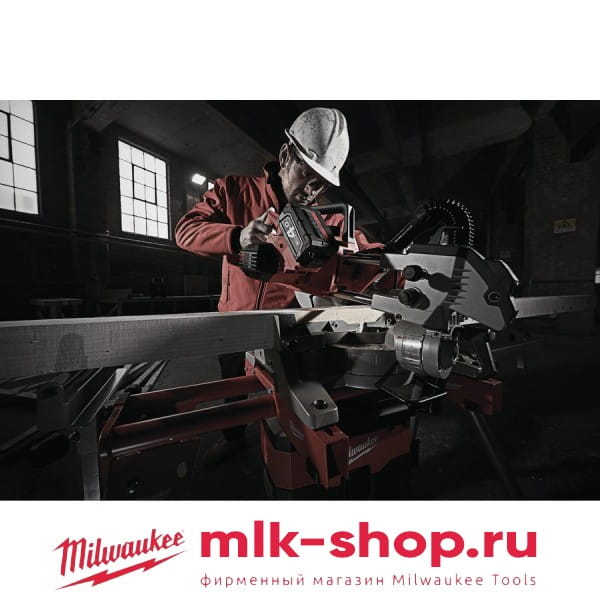 Аккумуляторная торцовочная пила Milwaukee M18 SMS216-0