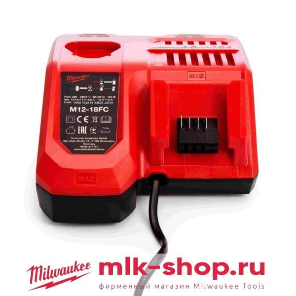 Быстрое зарядное устройство Milwaukee M12-18 FC