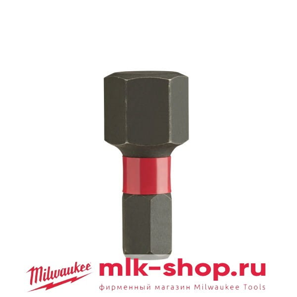 Биты для шуруповерта Shockwave Impact Duty Milwaukee Hex 12 мм X 25 мм (2шт)