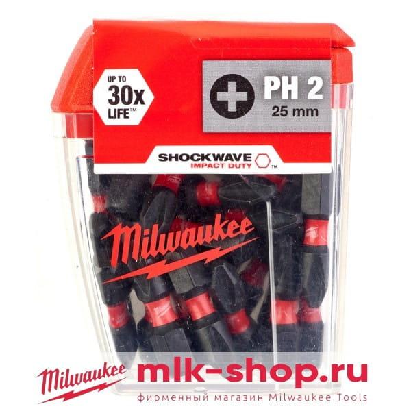 Shockwave Impact Duty PH2 x 25 мм 4932430853 в фирменном магазине Milwaukee