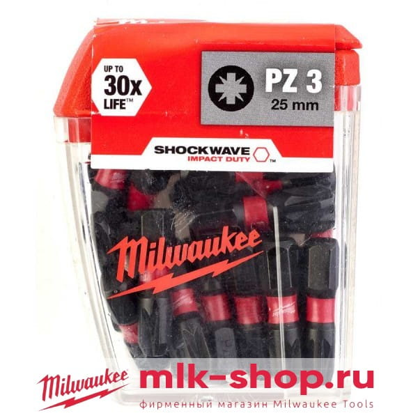 Shockwave Impact Duty PZ3 x 25 мм 4932430869 в фирменном магазине Milwaukee