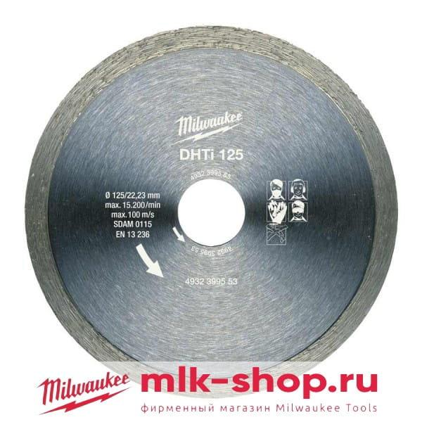 DHTi 125 мм 4932399553 в фирменном магазине Milwaukee