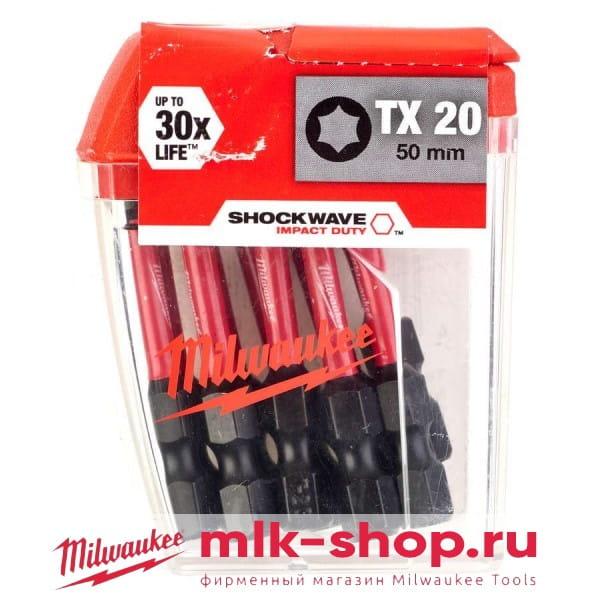 Shockwave Impact Duty TX20 x 50 мм 4932430877 в фирменном магазине Milwaukee