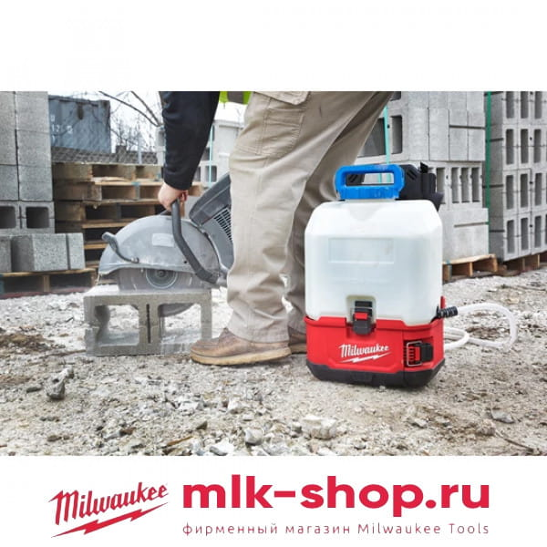 Бак для воды к аккумуляторному распылителю (опрыскиватель) Milwaukee SWITCH TANK  M18 BPFP-WST