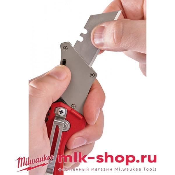 Выкидной многофункциональный строительный нож Milwaukee Fastback Compact
