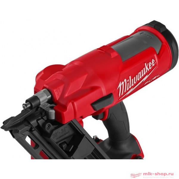 Аккумуляторный гвоздезабиватель с наклонным магазином Milwaukee M18 FFN-0C