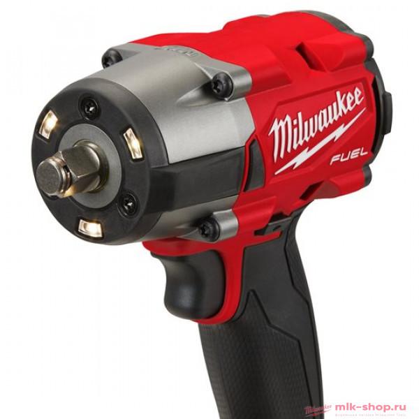 Аккумуляторный среднемоментный ударный гайковерт Milwaukee M18 FUEL FMTIW2F12-502X