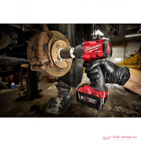 Аккумуляторный среднемоментный ударный гайковерт Milwaukee M18 FUEL FMTIW2P12-502X