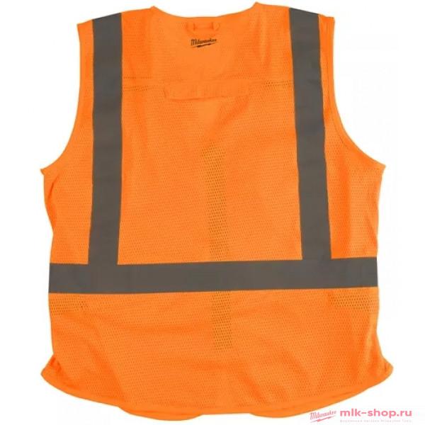 Жилет сигнальный оранжевый Milwaukee L/XL