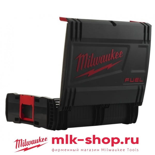 Кейс Milwaukee HD-BOX с двумя паралоновыми вставками UNI1