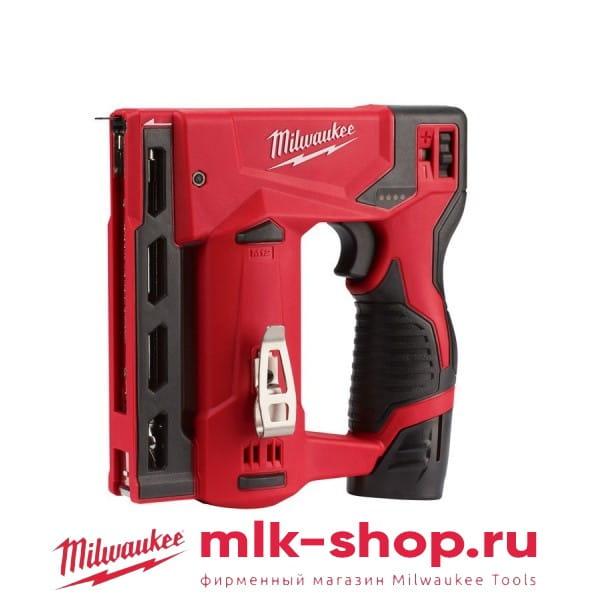 Аккумуляторный степлер Milwaukee M12 BST-202X