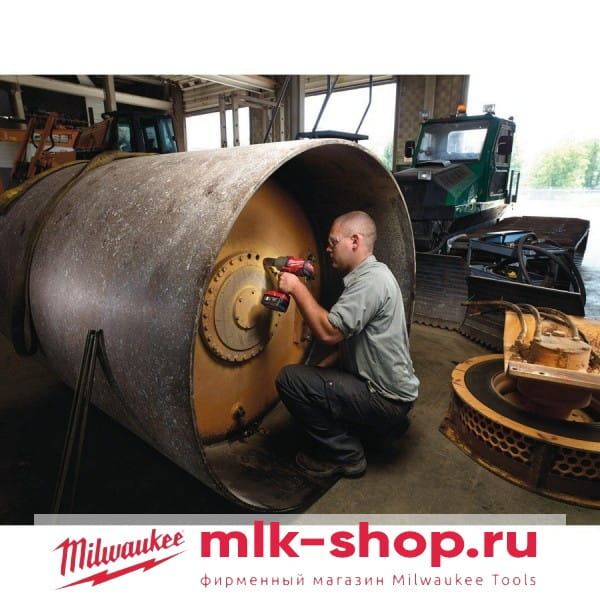 Аккумуляторный импульсный гайковерт Milwaukee M18 FUEL CHIWF 34-502X