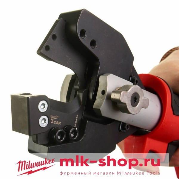 Аккумуляторный гидравлический инструмент для резки кабелей FORCE LOGIC Milwaukee M18 HCC-201C ASCR-SET