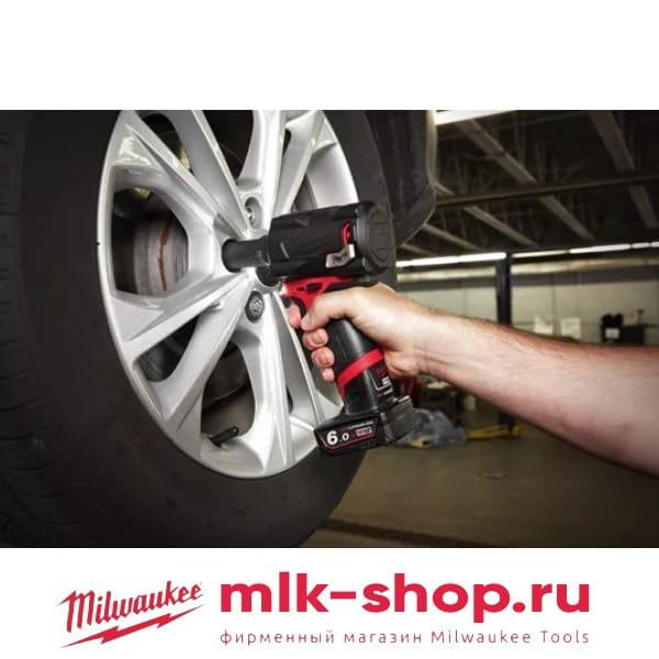 Аккумуляторный импульсный гайковерт Milwaukee M12 FUEL FIWF12-0